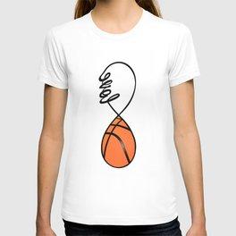 Love Basketball Forever - Infinity Love Basketball T-shirt
