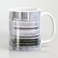 jewish Mugs featuring Many quiet moments to rest by Brown Eyed Lady