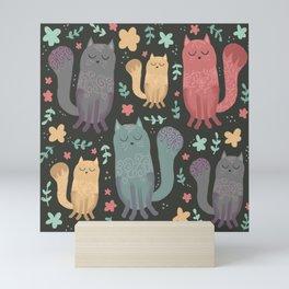 Chill Cats Mini Art Print