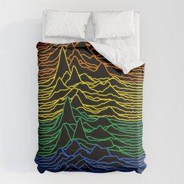 Unknown Rainbow Pleasures Duvet Cover