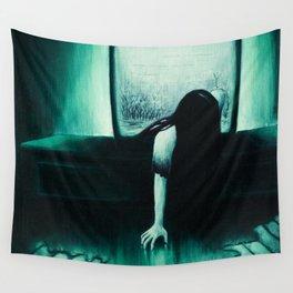 She Never Sleeps Wall Tapestry