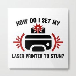 Laser Printer Metal Print