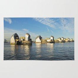 Thames Barrier Rug