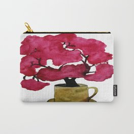Cherry blossom Tree in Mug Carry-All Pouch