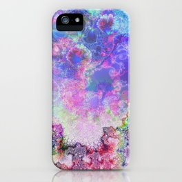 abstract 006: snowflake iPhone Case