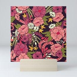 Jungle Pattern 001 Mini Art Print