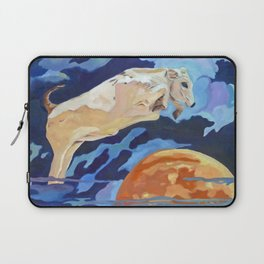 The Cow Jumped Over the Moon Laptop Sleeve