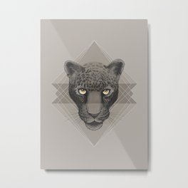 Eternal Leopard Metal Print
