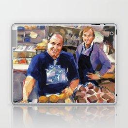 Maurice Margolis, proprietor of Sig's Deli, Newport Laptop & iPad Skin