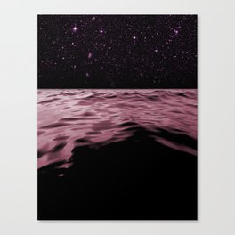 Pink Planet Canvas Print