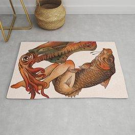 Reverse Mermaid 2 Rug