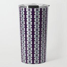 Purple Decorative Pattern Travel Mug