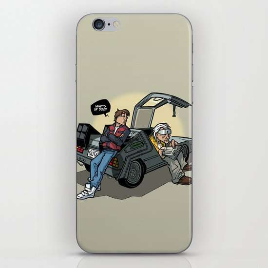 Blast from the past iPhone & iPod Skin