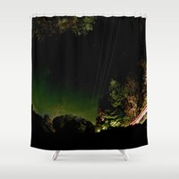 vermont Shower Curtains featuring Vermont by LukeyD