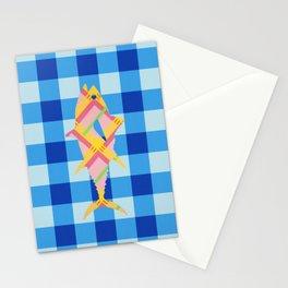 FISH STRIPES Stationery Cards
