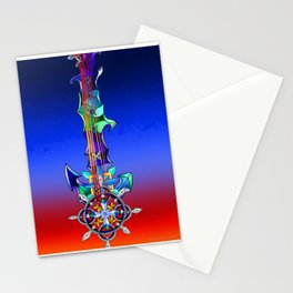 Fusion Keyblade Guitar #141 - Diamond Dust & Axel Chakrams Stationery Cards