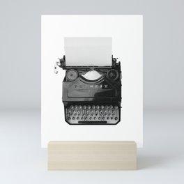 typewriter Mini Art Print