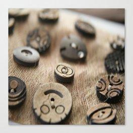 Beloved Buttons  Canvas Print