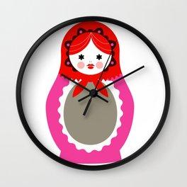 Matrioska-006 Wall Clock