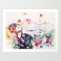 dreamy insomnia Art Print