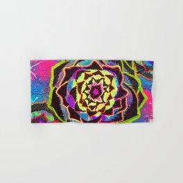Organic Mandala Hand & Bath Towel