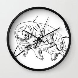 Water Bear Wall Clock