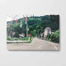 Japanese Countryside Metal Print