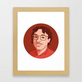 Queer Portrait - Barbara Gittings Framed Art Print