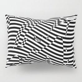 Smart Black and White 2 Pillow Sham