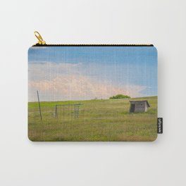 Outhouse/Playground, Palmgren Township School, North Dakota Carry-All Pouch