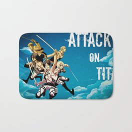 Attack on Titan Bath Mat