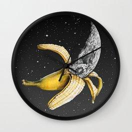 Moon Banana Wall Clock