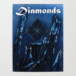 Diamonds Suit Poster