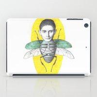 kafka iPad Cases featuring metamorphosis by nebula_seven