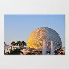 Epcot Ball Canvas Print