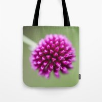 dragon ball Tote Bags featuring Ball by John Murray/DarkStarImages
