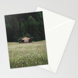 Alpine symmetry Stationery Cards