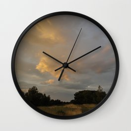 We Only Crave Reality Wall Clock