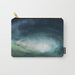 A Wild Wave - Storm Carry-All Pouch