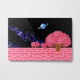 Celestial Fields of Fleeting Dreams Metal Print