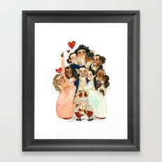 Hamilton Hug Framed Art Print