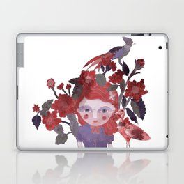 The flamingo inspire me... Laptop & iPad Skin