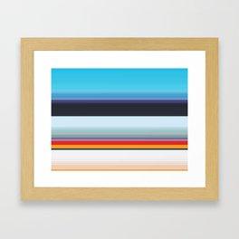 An Ice Garden Framed Art Print