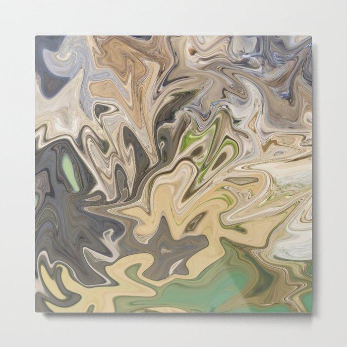 Shattered Earth Metal Print