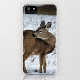 First Winter iPhone Case