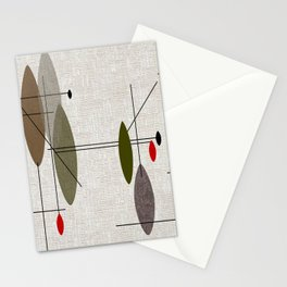 Hanging Orbs Stationery Cards