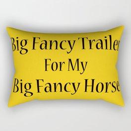Big Fancy Trailer Rectangular Pillow