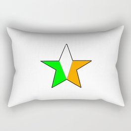 flag of ireland 11 -ireland,eire,airlann,irish,gaelic,eriu,celtic,dublin,belfast,joyce,beckett Rectangular Pillow
