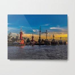 Algiers Point, West Bank, New Orleans Metal Print