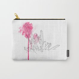 Pink Crystal Carry-All Pouch